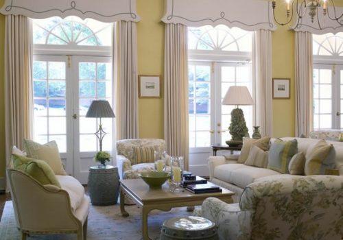 Window treatment Cornice