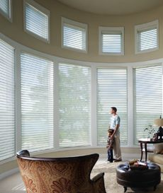 motorized blinds powered by Somfy