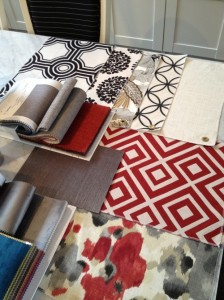 Meridith Heron fabric design