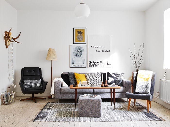 Stylish scandinavian decor can easily be acheived in six easy steps zoe clark will take you step by step on how to complete a scandinavian look