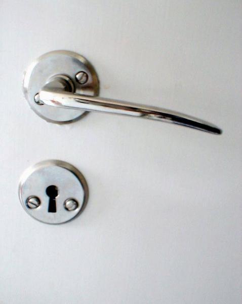 2082-closeup-of-a-metal-door-handle-and-keyhol