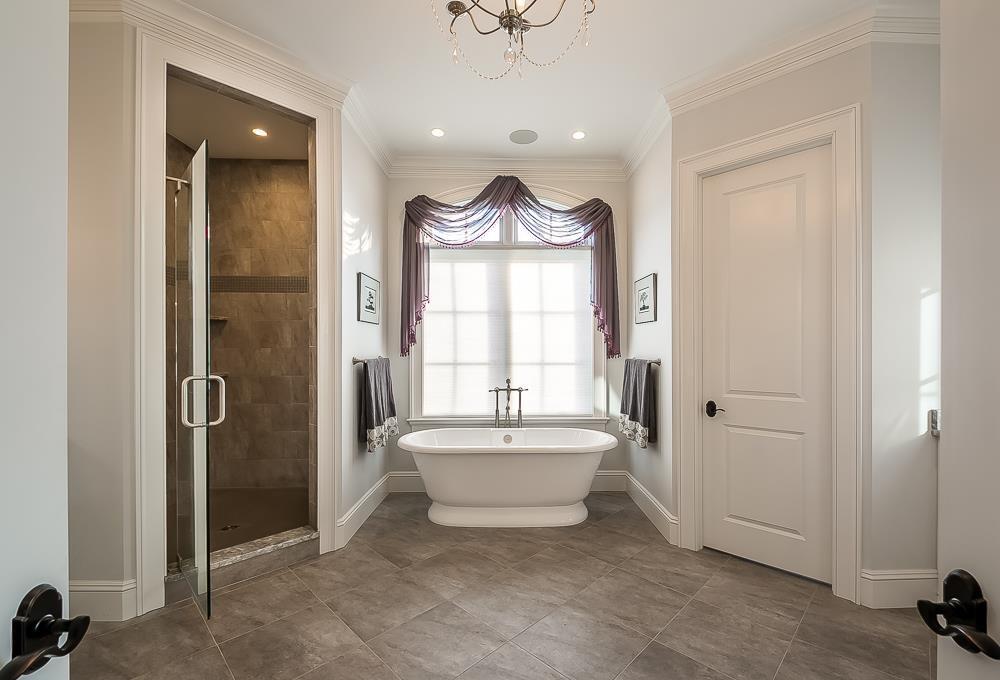 A tub bath