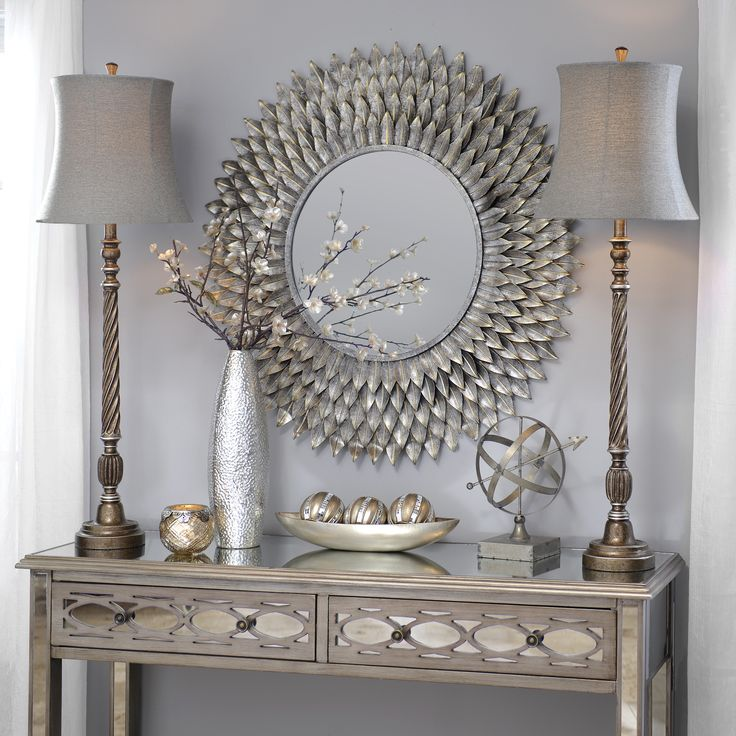 Decorating with silver decor all about interiors for Home decorations next