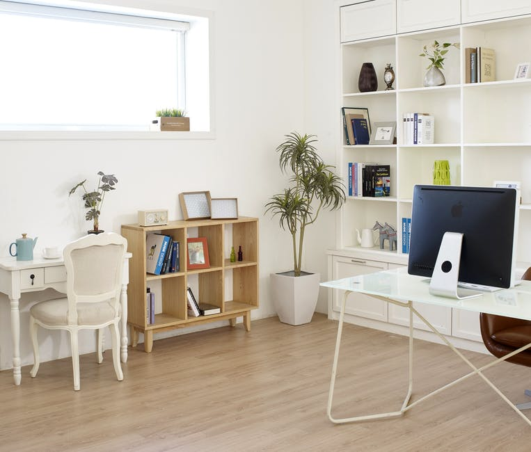 Create A Gorgeous, Multifunctional Home Office Space In